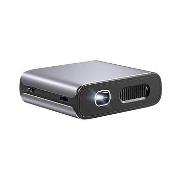 Micro proyector de teléfono móvil, WiFi en casa 4K Mini proyector ...