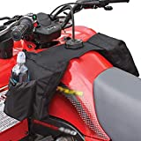 EFINNY Snowmobile ATV Tank Saddlebags Durable Universal Motorcycles Oil Tank Bag Waterproof Front Accessories Storage Pack Luggage with Water/Drink Pocket