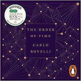 amazon the order of time carlo rovelli benedict cumberbatch