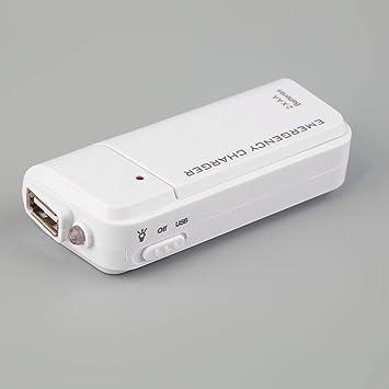 Universal USB portátil de Emergencia 2 AA Extensor de ...