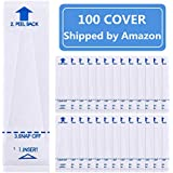 100 Pack Digital Thermometer Probe Covers - Disposable Universal Electronic Oral Rectal Thermometer Covers Shipped by…