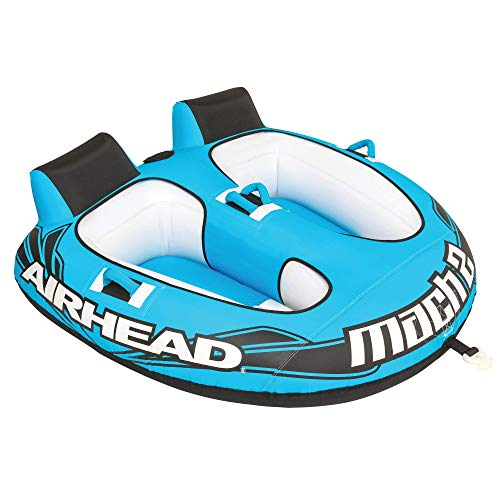 Airhead Mach 2 | 1-2 Rider Towable Tube for Boating (Tube Big Bertha)