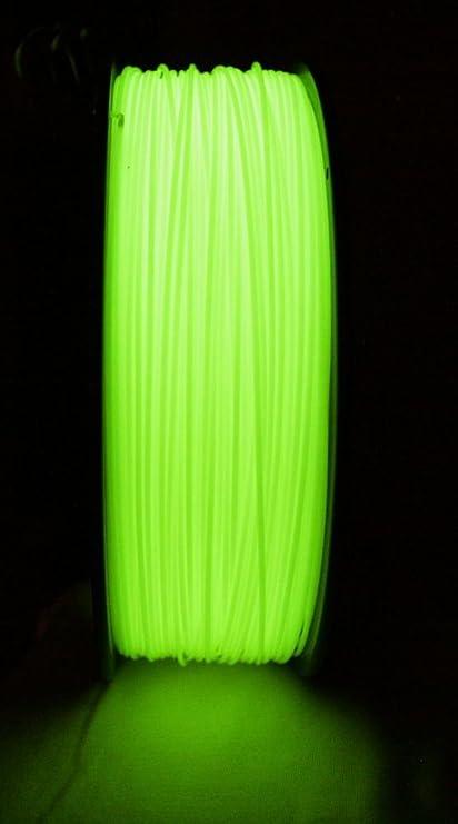 Tech Line ABS Filamento fosforógeno (verde) 1.75 mm: Amazon ...