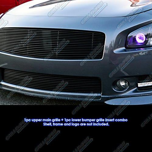 2009 Nissan Maxima Exterior: APS Fits 2009-2014 Nissan Maxima Black Billet Grille Grill