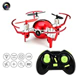 RC Quadcopter Drone With 2MP Camera 2.4G 4CH 6Axis Headless High Hold Mode JJRC H30CH Mini Quadcopter with Altitude Hold, Gravity Sensor and Headless Mode RTF Helicopter