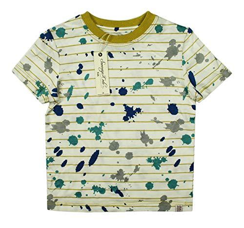 (SOVEREIGN CODE KIDS Toddler Boys Striped White T Shirt TEE 24M)