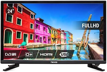 Nikkei NL2405FHD Televisor 24 LED Full HD, Pantalla de Platino de ...