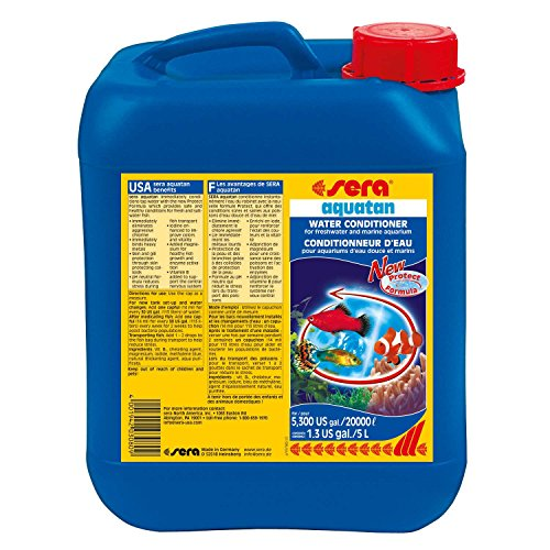 sera Aquatan 5, 000 ml, 1.3 US gallon Aquarium Treatments