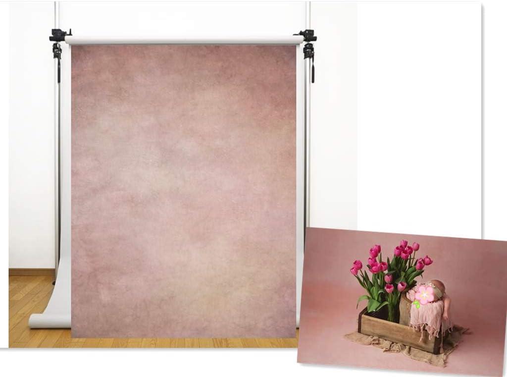 WaW Toile de Fond pour Studio Photo Gris Bleu Pente Couleur Tissu D/écors Photographie Enfant Portrait 1.5x2.2m