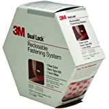 Dual Lock Reclosable Fastener MP3560 250 Clear, 1 inch x 5 yard, 06463