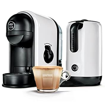 Máquina Lavazza Minu, blanca, para Café con Leche, café, con espuma de leche integrada: Amazon.es: Hogar