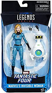 336eec803472 Marvel Legends 6-Inch Fantastic Four Invisible Woman Sue Storm Action  Figure with HERBIE