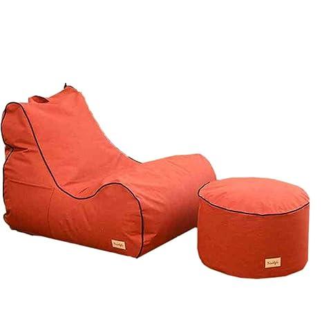 Superb Amazon Com Lazy Sofa Bean Bag Chair Durable Inner Liner Machost Co Dining Chair Design Ideas Machostcouk
