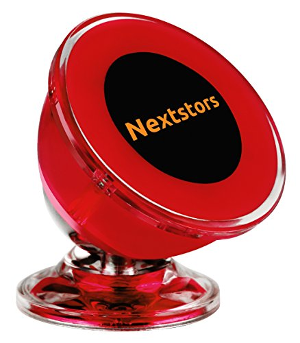 Luxury Car & Truck Cell Phone Mount Magnetic, GPS Holder - 360 Degree Rotation from Dashboard –Universal Car Mount for Apple iPhone iPod Samsung Galaxy HTC Nokia Summer Edition By Nextstors