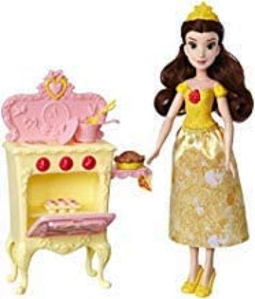 Amazon Com Disney Princess Belle S Royal Kitchen Toys Games