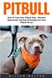 img - for Pitbull: How To Train Your Pitbull Dog - Discover Spectacular Training Techniques For Your Pitbull Terrier! book / textbook / text book