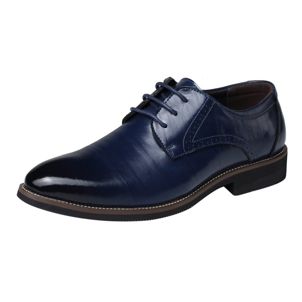 Juleya Mens Business Shoes Derby Formal Lace-Up Leisure Shoes Oxford PU Leather  Shoes Wedding Dress Shoes 39-48  Amazon.co.uk  Shoes   Bags 3ff02502c1b