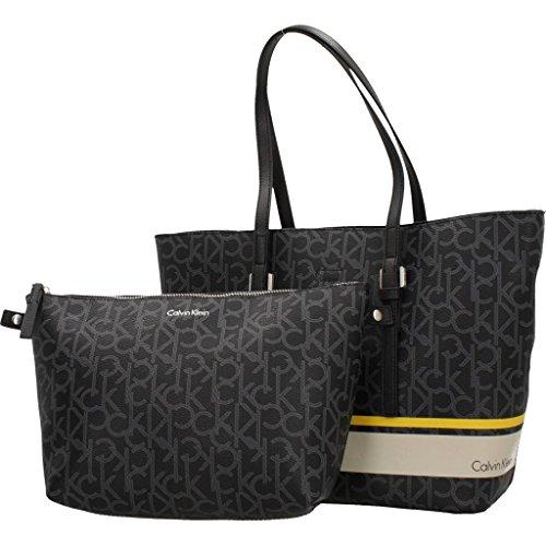 Venta Sast Calvin Klein Medium Shopper Donna Handbag Nero Nero 100% Auténtico Línea Venta Barata Footlocker Fotos f4CkaECH