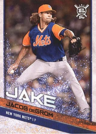 c0aa012d7 2018 Topps Big League Players Weekend Image Variations  219 Jacob deGrom New  York Mets Baseball