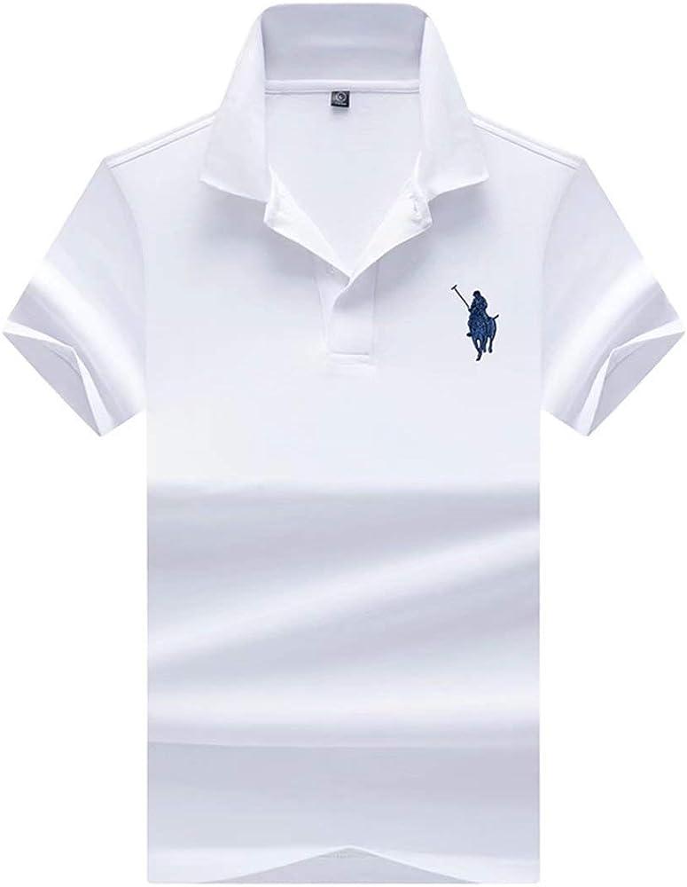 Camisa De Polo De Hombre Camisa De Polo Retro De Golf De Manga ...