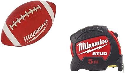 Milwaukee diametro 27 mm 5 m pallone da calcio americano Metro a nastro
