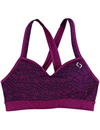 Womens UpRise Crossback Sports Bra Purple