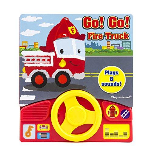 Go! Go! Fire Truck Little Steering Wheel - Play-a-Sound - PI Kids