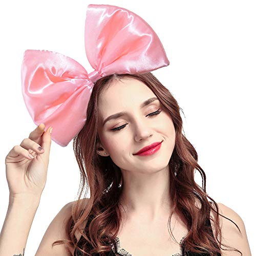 ZTL Women Huge Bow Headband Hairband Hair Hoop Costume Accessories Party -
