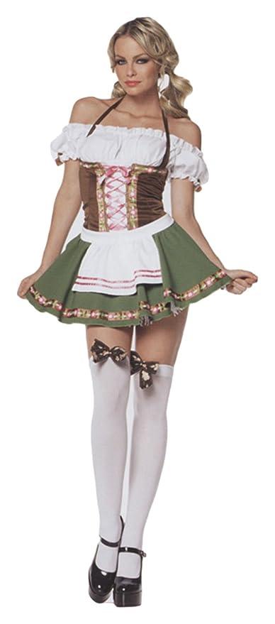 più amato 23bc3 eef23 Costume bavarese donna: Amazon.it: Giochi e giocattoli