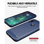 Moto E Phone case,Motorola E case,with HD Screen Protector,M MAIKEZI Soft TPU Slim Fashion Non-Slip Protective Phone…