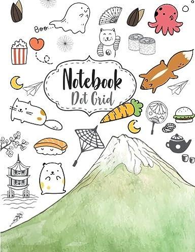 Notebook Dot Grid Cute Japanese Drawing Cover Rh Amazon Com Anime Usernames