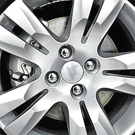 diametro 17 mm con strumento di rimozione incluso copribulloni e copridadi in plastica per auto dalla forma esagonale universali colore: rosso Sprovfidy