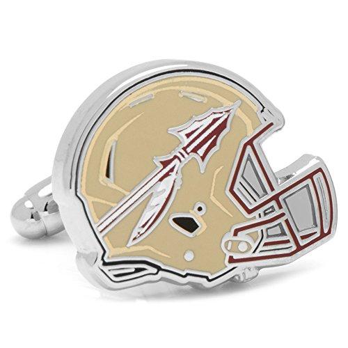 (Cufflinks NCAA Florida State Seminoles Helmet, Officially Licensed)