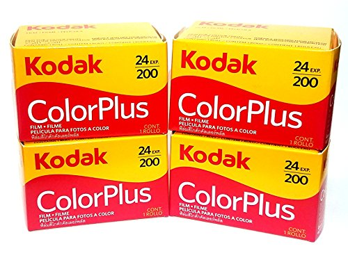 4 Rolls Of Kodak colorplus 200 asa 24 exposure