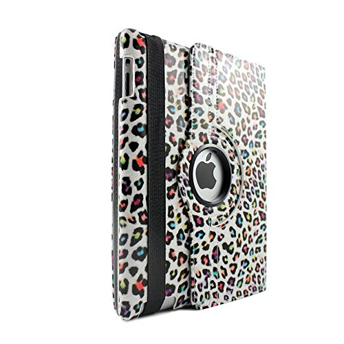 SANOXY 360° Rotating PU Leather Case Stand for iPad 2/3/4...
