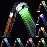 Other LED Color Changing Shower Head with Spa Shower Filter
