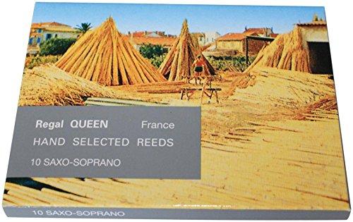 Rigotti Queen Reeds for Soprano Saxophone Strength 3 Box of 10 by Rigotti