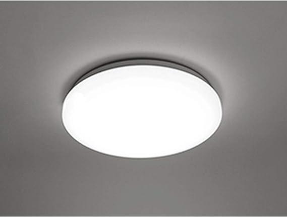 COOLWEST Lámpara de Techo 18W Plafones Blanco 6000K 1650lm Ø28cm IP44 impermeable 180° LED Iluminación de techo para baño, cocina, dormitorio, pasillo, balcón, sala de estar, comedor: Amazon.es: Iluminación