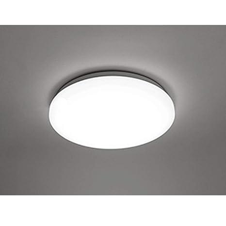 COOLWEST Lámpara de Techo 18W Plafones Blanco 6000K 1650lm Ø28cm IP44 impermeable 180° LED Iluminación de techo para baño, cocina, dormitorio, ...