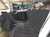 Car Cover Pet Seat Lovespot Car Pet Seat Cover Dog Hammock with Slip-proof Waterproof Scratch-proof Nonslip Backing for Cars Trucks SUVs Black