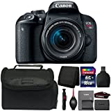 Canon EOS Rebel T7i 24.2MP DSLR Camera with 18-55mm Lens and Accessory Kit