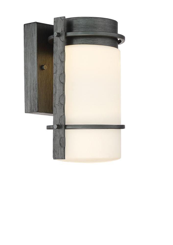 Designers Fountain LED34301-WI Aldridge LED Wall Lantern, Weathered Iron