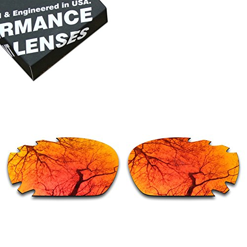 ToughAsNails Polarized Lens Replacement for Oakley Jawbone Vented Sunglass - More Options ()