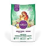 Halo Vegan Dry Dog Food, Garden Of Vegan Recipe, 4-Pound Bag