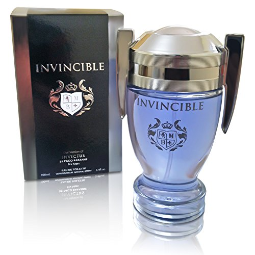 Invincible Perfume Eau De Toilette, Impression by Mirage Brands, 3.4 fl oz 100 ml - Long-Lasting Fragrance To Rock Every - Expensive Famous Brands