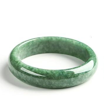 Zhiming Bracelet Jade Naturel Jade Bracelet Femmes intégralement de Bracelet  Jade Vert 7af0d65fa0c4