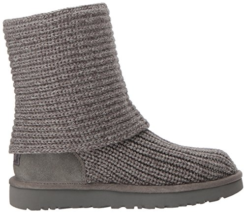 UGG Women's Classic Cardy Winter Boot, Grey, 8 B US by UGG (Image #7)