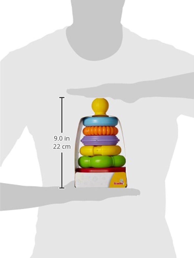 Simba 264.206.121,3/cm Abcw impilabile Anello Piramide