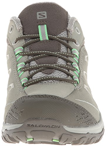 Dark Hiking Women's Verbena Salomon LTR Titanium Swamp Ellipse Shoe Green wtZt1qdxX