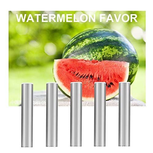 Quit Smoking Vitamin Refiller Replacement- Aromatherapy Inhaler Accessory - Watermelon Vitamin Filler (5 - Replacement Vaporizer Cigarette